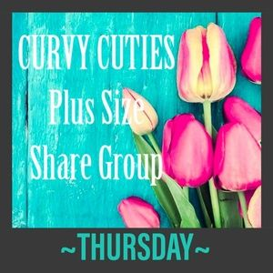 Tops - 5/23 (CLOSED) PLUS SHARE GROUP: Curvy Cuties